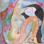"Dream III. Oil On Canvas. 20""x20"""