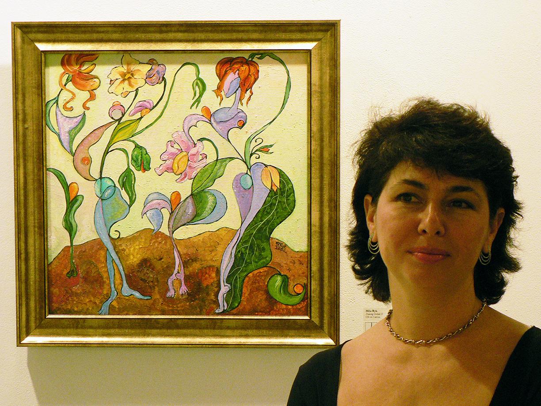 Mila CAC art show