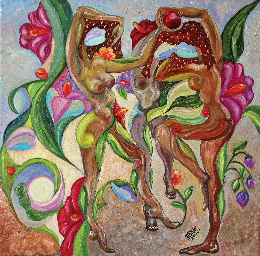 Moon Dance. Oil on Canvas