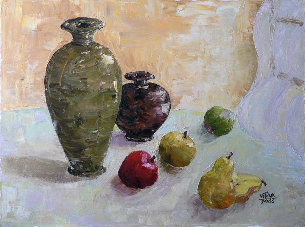 "Morning Breeze. Still Life. Oil on Canvas. 18""x24"""