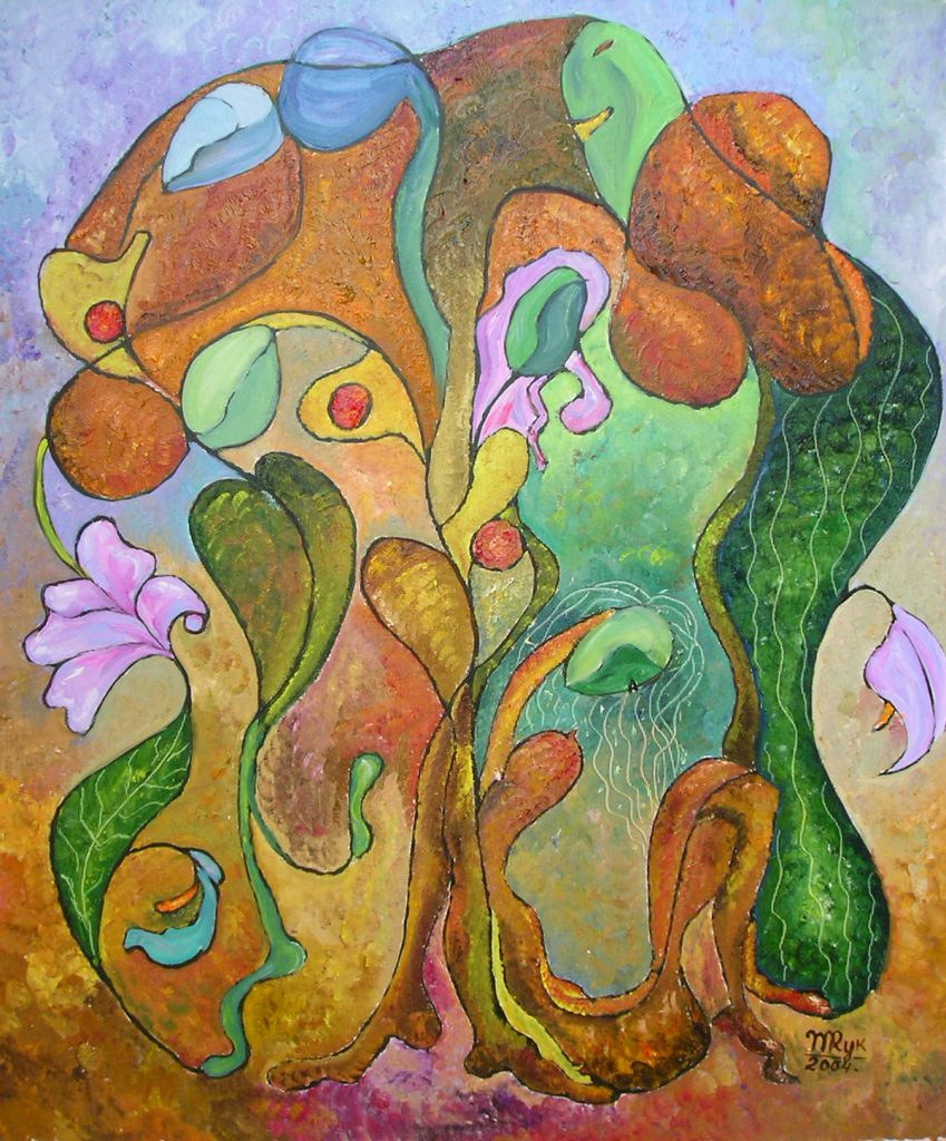"""Tree of Life I. Oil on Canvas. 20""""x24"""""""